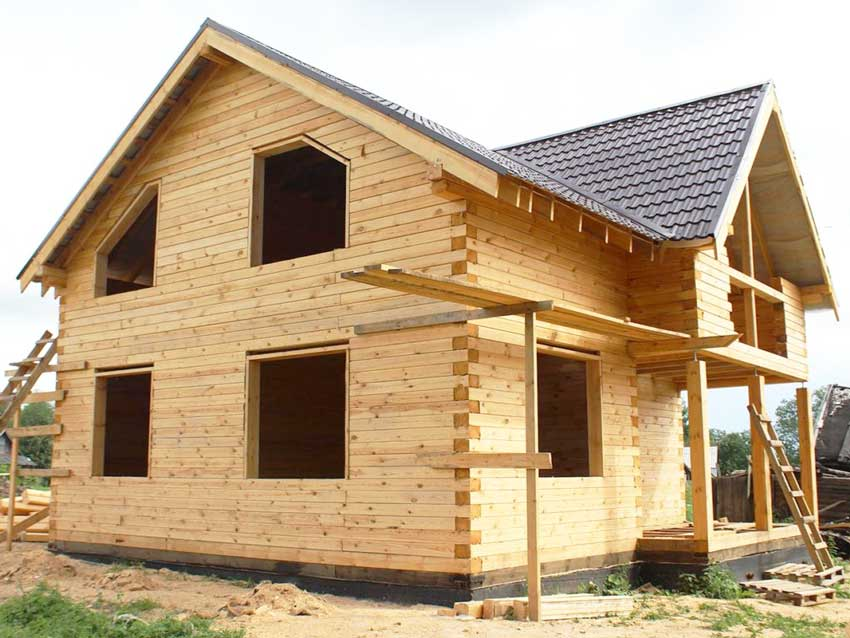 kleenii brus 4 - Строим этапами, достраиваем часть дома: перечень работ и цены