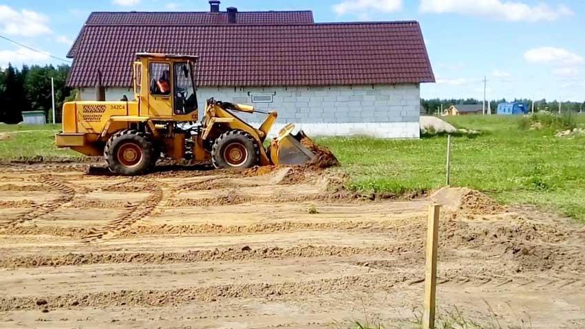 podgotovka 2 - Подготовка участка под строительство по выгодной цене в СПб и области