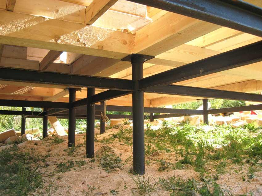 vint 8 - Свайный фундамент с установкой под ключ