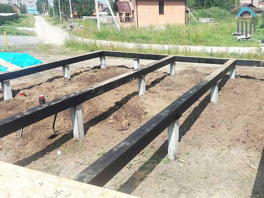 zabiv 9 - Свайный фундамент с установкой под ключ