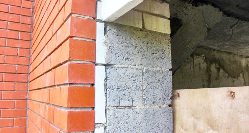 Утепление блоками легкого цемента