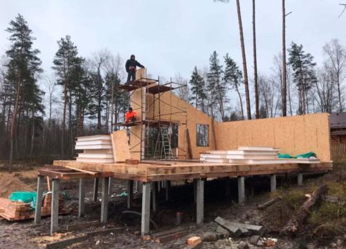 sip 18 - Заказать строительство домов из СИП панелей под ключ