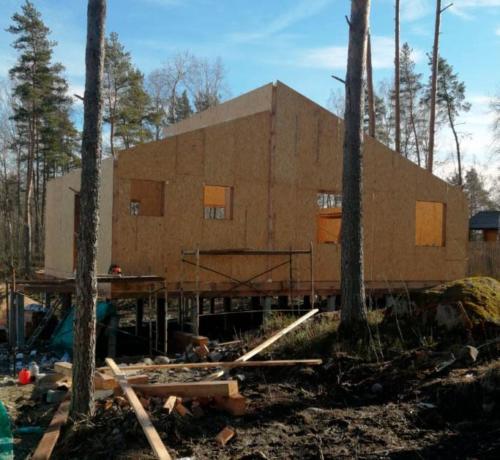 sip 22 - Заказать строительство домов из СИП панелей под ключ