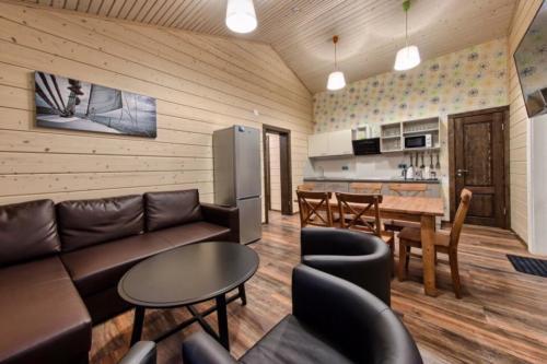 Построенный нами финский домик