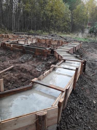 11 - Фундамент ленточный - подборка из проектов