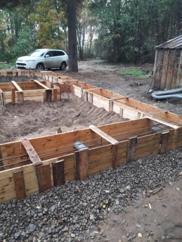 4 - Фундамент ленточный - подборка из проектов