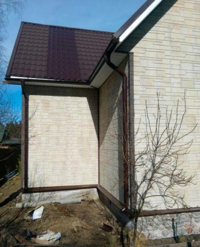 otdel mot 8 - Портфолио: внешняя отделка дачного домика в Моторном