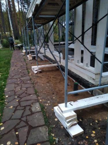 kkark 18 - Две каркасные пристройки с обеих сторон дома