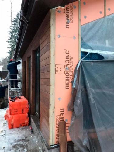 pris kar 250221 12 - Две каркасные пристройки с обеих сторон дома