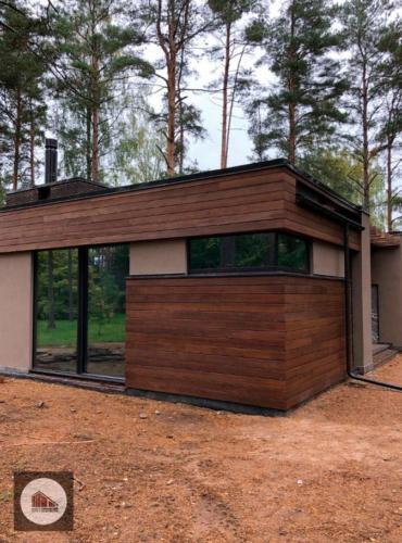 Строительство дома из газобетона и монолита