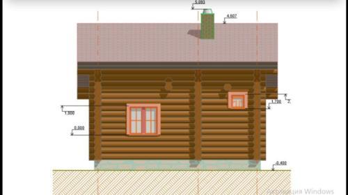 41aJPbBI7wE - Сруб маленького уютного домика