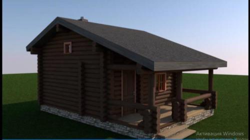 FA7ssZs4jAg - Сруб маленького уютного домика