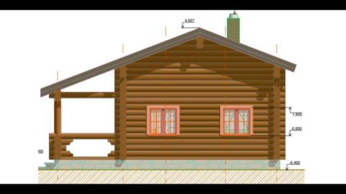 HdyCXN3kbZg - Сруб маленького уютного домика
