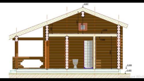 raZncGhFvbs - Сруб маленького уютного домика