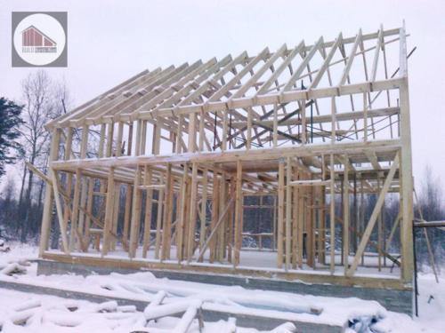 5jADXuaRLMI - Строительство каркасного дома - Приозерский район