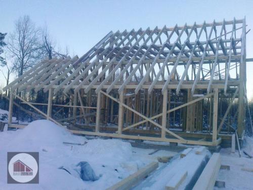 EvSFq0YRcwo - Строительство каркасного дома - Приозерский район