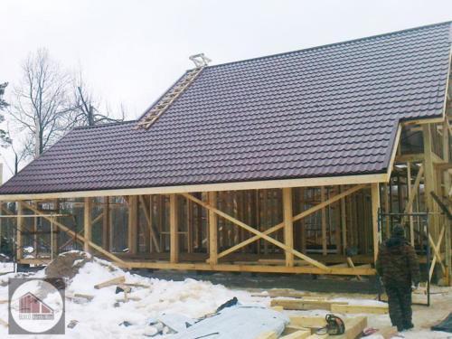 Qc5nZG bvKE - Строительство каркасного дома - Приозерский район