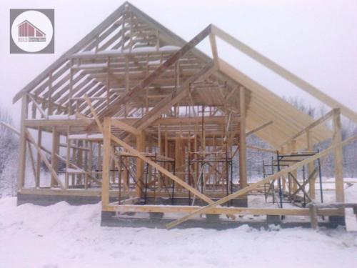 SKFdIa4X0m4 - Строительство каркасного дома - Приозерский район