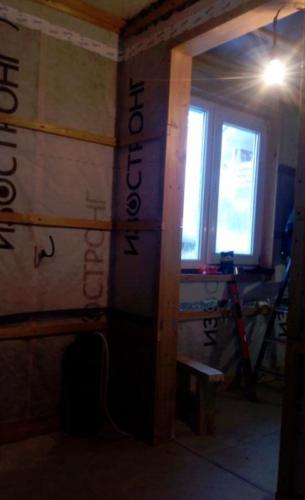 romaski250221 26 - Наружные и внутренние работы в Доме и Бане, пос. Ромашки