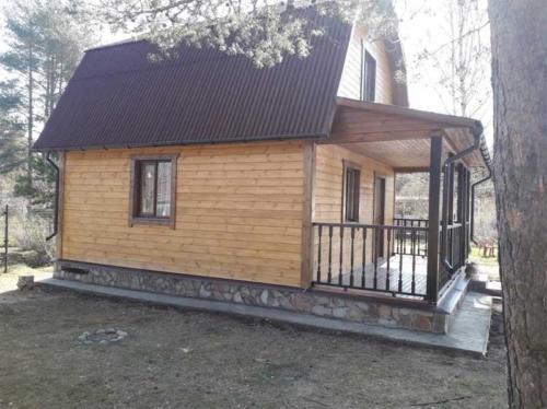 3 - Внешняя отделка имитатором бревна, утепление фасада, отделка цоколя и оконных рам