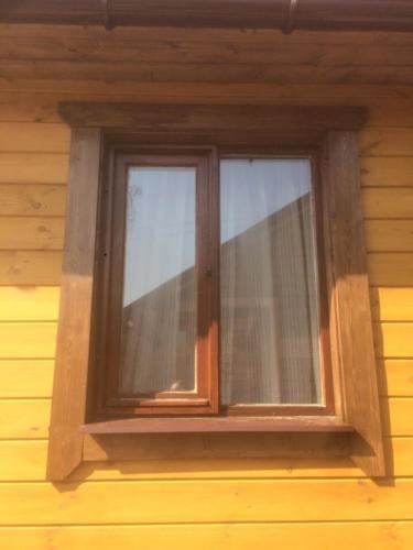 6 - Внешняя отделка имитатором бревна, утепление фасада, отделка цоколя и оконных рам