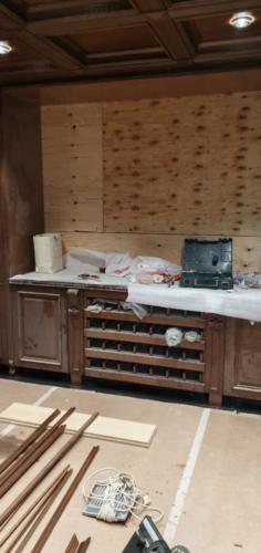 11 - Внутренняя отделка коттеджа из сибирского кедра
