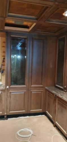 12 - Внутренняя отделка коттеджа из сибирского кедра