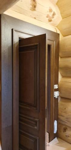 3 - Внутренняя отделка коттеджа из сибирского кедра