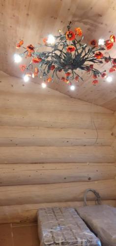 4 - Внутренняя отделка коттеджа из сибирского кедра