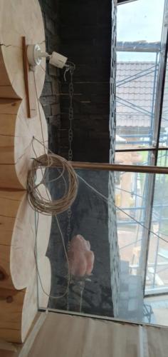 5 - Внутренняя отделка коттеджа из сибирского кедра