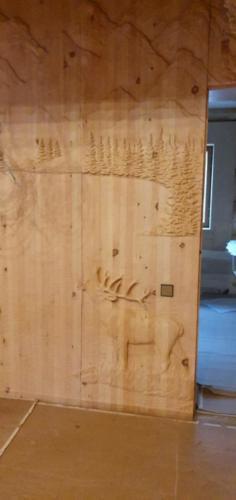 7 - Внутренняя отделка коттеджа из сибирского кедра
